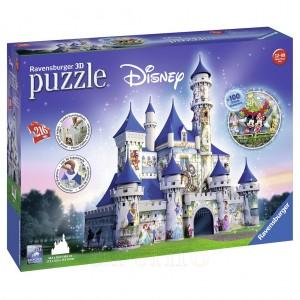 Puzzle 3D Castelul Disney, 216 Piese, Ravensburger