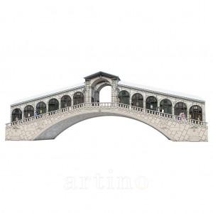 Puzzle 3D Podul Rialto, 216 Piese, Ravensburger