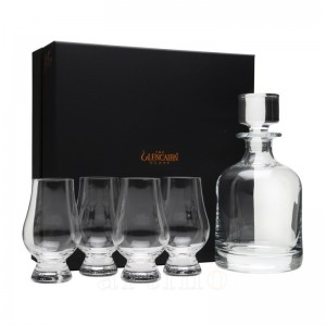 Set Whisky Glencairn Decantor + 4 pahare + GiftBox
