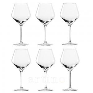 set 6 pahare vin rosu, Revolution, cristal 545ml