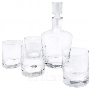 Set whisky decantor si 4 pahare, Vin Bouquet