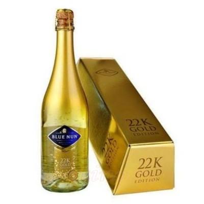 Blue Nun Sparkling Gold 24K + Gift Box lingou