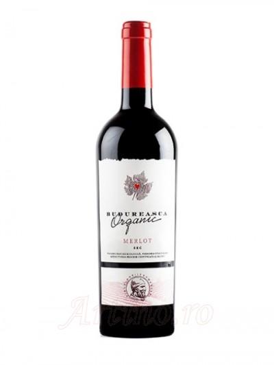 Vin Budureasca Organic Merlot
