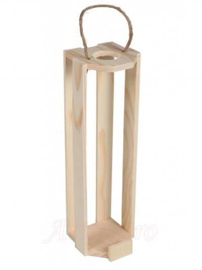 Cutie vin lemn Decor - mic