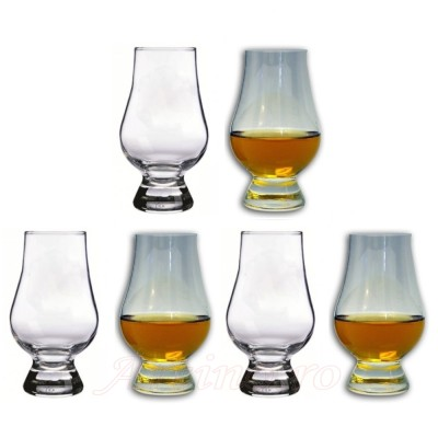 Set 6 pahare whisky Glencairn Glass