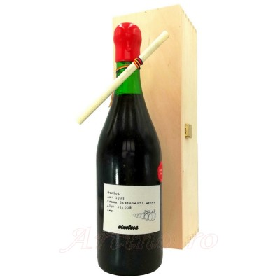 Vin colectie 1993 Merlot Stefanesti