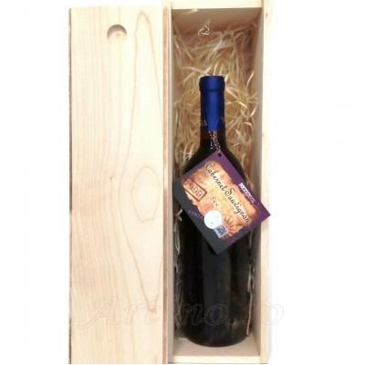 Vin vechi1999 Cabernet Sauvignon + cutie lemn