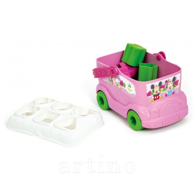 Jucarie Autobuz de sortat forme Minnie, Clementoni - mic