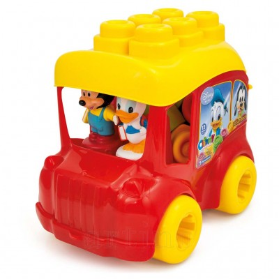 Autobuz Mickey cu Cuburi, Clementoni