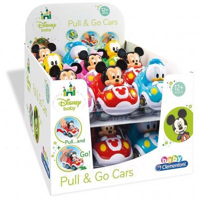 Masinute Disney Pull&Go, Clementoni