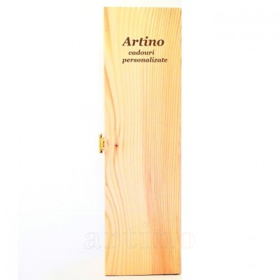 Cutie lemn personalizata Petto C.P. - mic