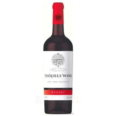 Daniel's Wine Merlot rosu