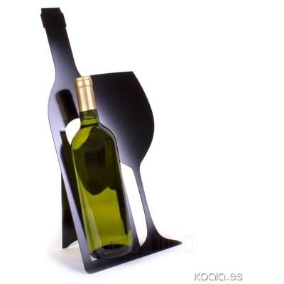 Suport pliabil bar, pentru 1 sticla vin - mic