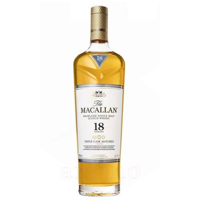 Macallan 18 ani Triple Cask + cutie