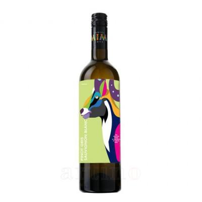 Vin Castel Mimi Pinot Gris, Sauvignon Blanc, AnimAliens, Baby 375 ml - mic