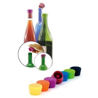 Set 2 dopuri ermetice vin, Pulltex - mic