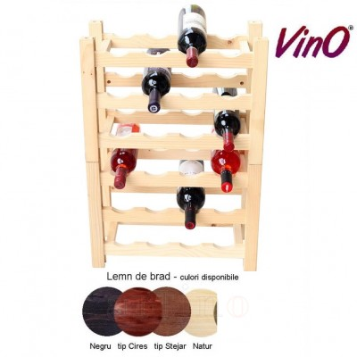 Raft lemn 24 sticle (6x4), VinO