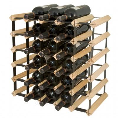 Raft lemn 30 de sticle, Final Touch  - mic