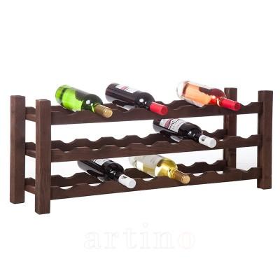 Raft lemn 24 sticle (3x8), VinO