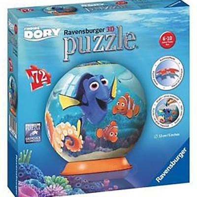 Puzzle 3D in Cautarea Lui Dory, 72 Piese, Ravensburger