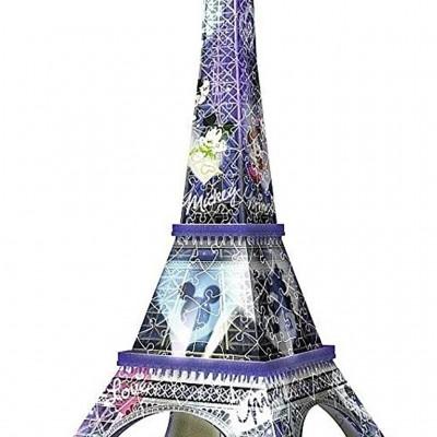 Puzzle 3D Turnul Eiffel, 216 Piese, Ravensburger - mic