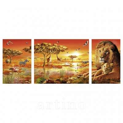 Puzzle Africa, 1000 Piese, Ravensburger