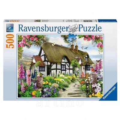 Puzzle Cabana, 500 Piese, Ravensburger  - mic