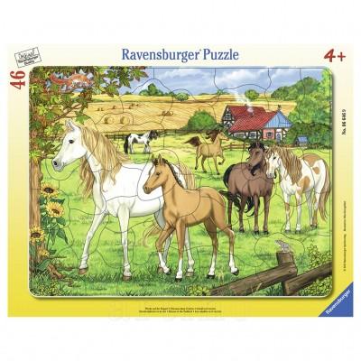 Puzzle Cai La Ferma, 46 Piese, Ravensburger
