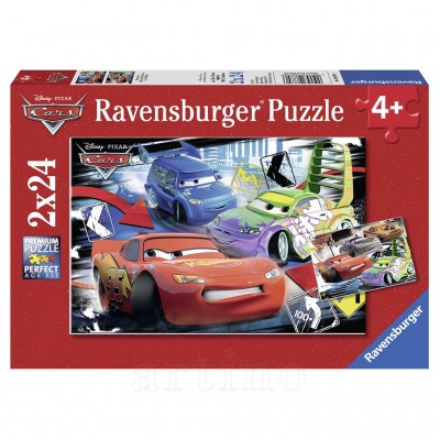 Puzzle Cars, 2X24 Piese, Ravensburger
