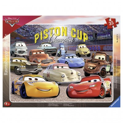 Puzzle Cars 3, 35 Piese, Ravensburger