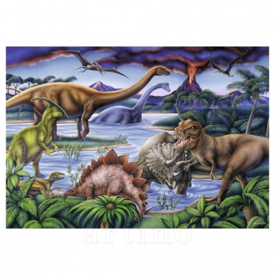 Puzzle Dinozauri, 35 Piese, Ravensburger - mic