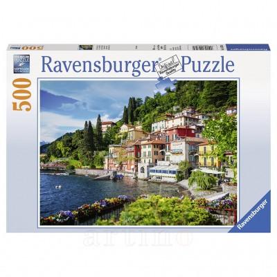 Puzzle Lacul Como Italia, 500 Piese, Ravensburger - mic