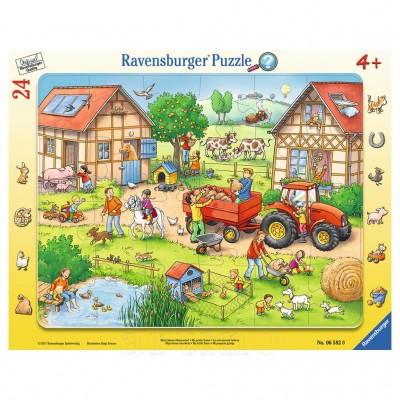 Puzzle Mica Mea Ferma, 24 Piese, Ravensburger - mic