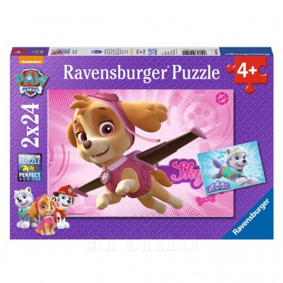 Puzzle Patrula Catelusilor, Ravensburger  - mic