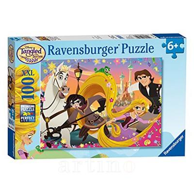 Puzzle Rapunzel, 100 Piese, Ravensburger  - mic