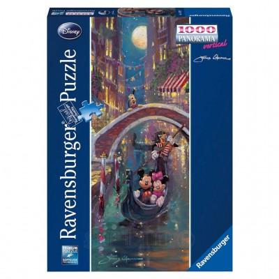 Puzzle Romantism in Venetia, 1000 Piese, Ravensburger