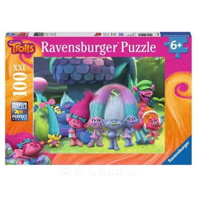 Puzzle Trolls, 100 Piese, Ravensburger