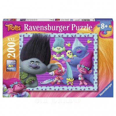 Puzzle Trolls, 200 Piese, Ravensburger