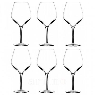 pahare vin rosu Exquisit, cristal 650ml, Stolzle - mic