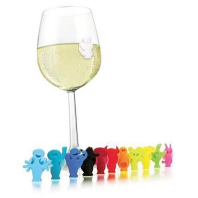 Etichete pahare Party, multicolore, Vacu Vin
