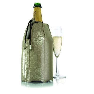 Racitor flexibil sampanie, platinum, Vacu Vin