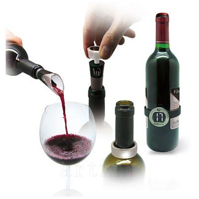 Set 4 accesorii vin, Vin Bouquet