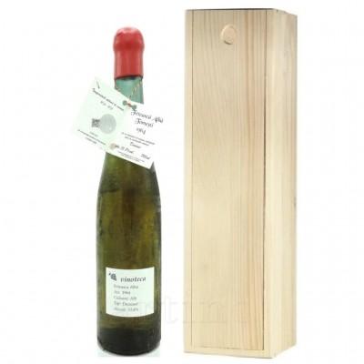 Vin colectie 1964 Feteasca Alba + cutie lemn