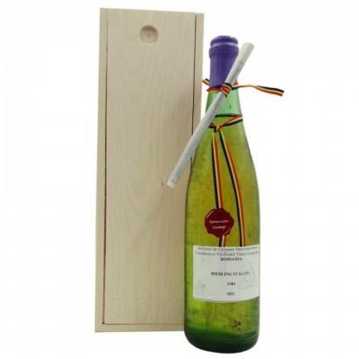 Vin colectie 1981 Riesling Italian