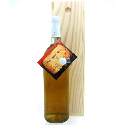 Vin colectie 1999 Sauvignon Blanc Dragasani + cutie lemn