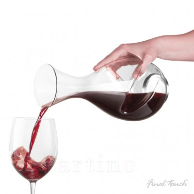 Decantor vin Twister 750 ml, Final Touch (WDA 650)