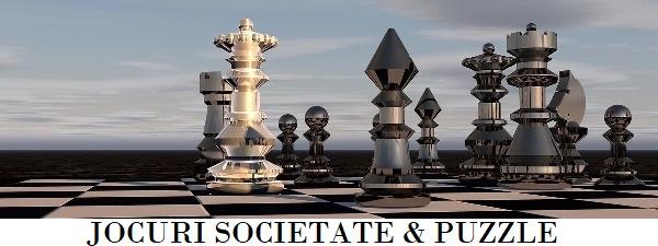 Puzzle si jocuri societate